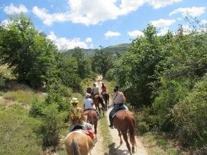 trekking tra i monti sibillini